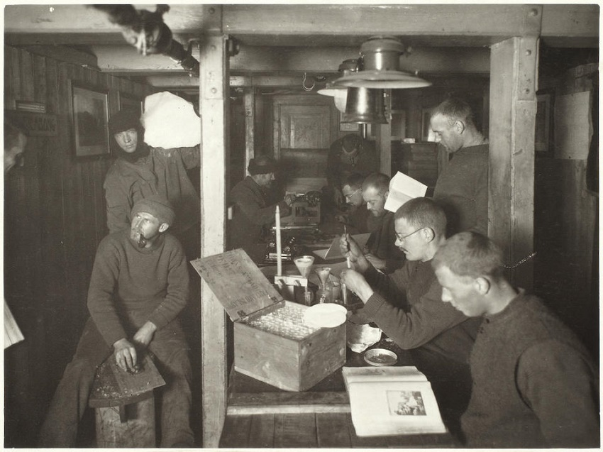 Shackleton Science Experiments